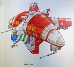 Inspired THE FIFTH ELEMENT Concept Art by Moebius « Film Sketchr