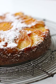 apple upside-down cake...