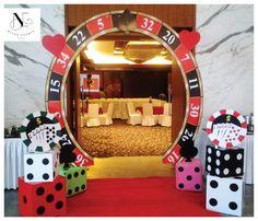 Casino Party Entrance - Niche Events