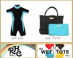 Introducing the Wet Tote | the latest addition to the RHC Exclusive Collection  Now ONLINE & In stores!!
