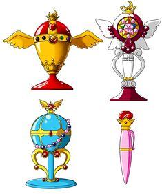 Magical Items_1 by FluffyBlueSheep.deviantart.com on @deviantART