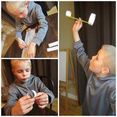 Sin descanso Diversión, Engañosamente educativo: 2 volantes de papel