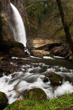 """Drift Creek Falls "" Oregon, USA"