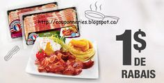 Coupons et Circulaires: 1$ sur OLYMEL Bacon