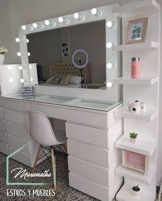 Teen Bedroom Designs, Bedroom Decor For Teen Girls, Room Design Bedroom, Bedroom Furniture Design, Teen Room Decor, Small Room Bedroom, Room Ideas Bedroom, Pinterest Room Decor, Beauty Room Decor