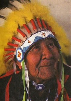 It's time Indians tell the world what we know . . about Nature and about God. So I'm going to tell what I know and who I am. You better listen. You've got a lot to learn.     -Chief Noble Red Man (Mathew King)