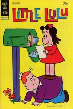 Little Lulu comic book. I watched the cartoons on TV too.