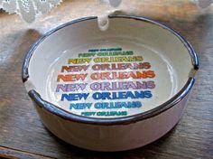 Vintage New Orleans Ashtray