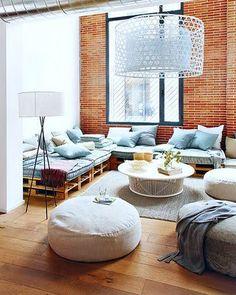 loft with diy furniture
