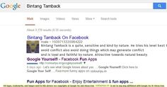 Find Out What Google Says About You!
