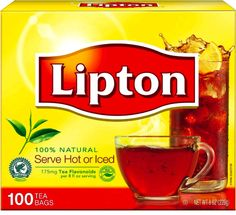 Lipton Black Tea has real tea leaves specially blended to enjoy hot or iced. Enjoy it as an addition to any meal because is naturally tasty and refreshing. Black Tea For Hair, Black Tea Bags, Green Tea Bags, Lipton Tea Bags, Lipton Ice Tea, Black Tea Benefits, Lipton Green Tea, Tea Brands, Brewing Tea