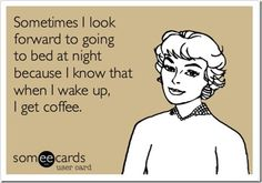 Same...but I get excited for my apple, hot cocoa, and oatmeal. Sometimes I'm just fine being a creature of habit. ;)