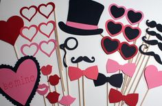 Valentine's Day Photo Booth Props - Awesome Props for a Special Valentine's Day