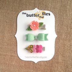 Hey, I found this really awesome Etsy listing at https://www.etsy.com/listing/209927111/baby-girl-glitter-wool-felt-hair-clip