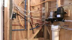 Premade power and plumbing packages for tiny houses. Ingenious!