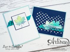 Fall leaves get blue and moody - get playful with Colorful Seasons!  ~Shannon