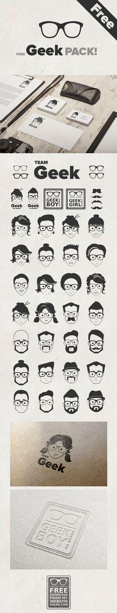 http://field5.com/en/freebies/geek-pack #icons #iconos