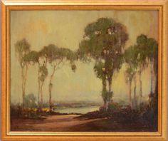 GEORGE THOMPSON PRITCHARD (1878-1962): SOUTHERN BAYOU LANDSCAPE