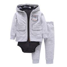 0-3 Months Su/éter de punto para beb/é 2 unidades Simple Joys by Carters Baby ,gris