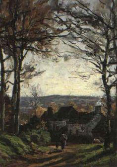La Rue des Vallées, 1866, Ludovic Piette