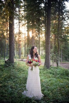 Stunning Lace wedding dress grey suit wedding photography Amanda Mae Images Amanda Mae Images Photography Pinterest Bend Oregon