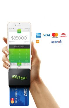 Acepta todas las tarjetas de crédito y débito a través de tu smartphone o tablet