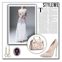 StyleWe 22 by abecic on Polyvore featuring polyvore fashion style Casadei Ippolita clothing stylewe