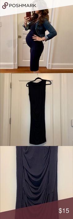 9e573325542 My Posh Closet · Ingrid & Isabel Maternity tank dress Sz S The best maternity  dress for spring/summer