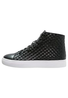 Tiger of Sweden YNGVE - High-top trainers - black Tiger Of Sweden, High Tops, Trainers, Slip On, Sneakers, Shoes, Black, Products, Fashion