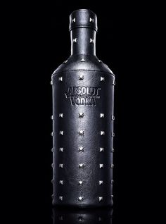 Absolut collectible Rock Star bottle packaging