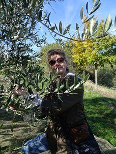 Tara at Villa Campestri #Tuscany #oliveoil