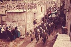 First Intifada - 1987, Jenin (Palestine).