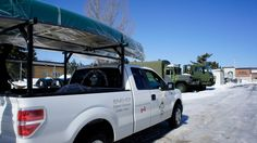 Dropping off the fleet of Holy Cow Canoes! Great day!