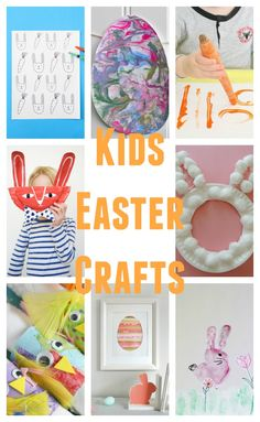 Greatest Crafts for Kids Get creative with your lovable and also very easy inspired crafts for youngsters! Easter Arts And Crafts, Preschool Arts And Crafts, Spring Crafts, Holiday Crafts, Easy Crafts, Kids Crafts, Holiday Decor, Easter Games, Easter Activities