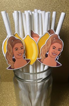 Beyonce Lemonade inspired Party straws paper straws Drinking straws pack of 12 Beyonce Party, Beyonce Birthday, Fathers Day Brunch, Party Drinks Alcohol, Bachelorette Party Decorations, 1st Birthdays, Paper Straws, Birthday Party Favors, Lemonade