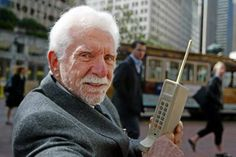 Father of the Cell Phone, Martin Cooper  Respect