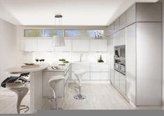 Keittiöt | TaloTalo | Rakentaminen | Remontointi | Sisustaminen | Suunnittelu | Saneeraus #keittiö #moderni #vetro #kitchen #modern #talotalo