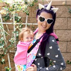 Once Upon a Tula 2 at #paxbaby is a new twist on our previous design! With candy colored unicorns and pink canvas, OUAT2 is another adorable, over the top Tula Baby Carrier!