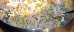 Eindelijk Zomer! Verrukkelijke Kipsalade Van Sonja Bakker recept | Smulweb.nl Salsa, Salad Recipes, Healthy Recipes, Weight Watchers Meals, Charcuterie, High Tea, Potato Salad, Healthy Living, Bbq