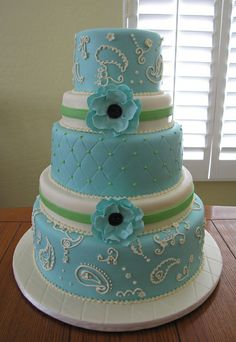 different sized tiers