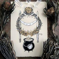 The artwork of Adrienne Rozzi // Poison Apple Printshop