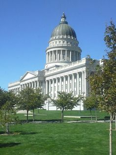 The Utah Capitol building. I took this picture on a field trip.