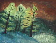 Milton Avery - Trees