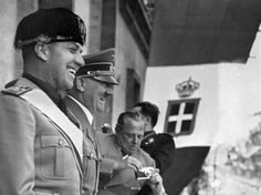 Benito and Adolf smiling