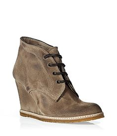 n.d.c. made by hand - flint shearling lined wedge