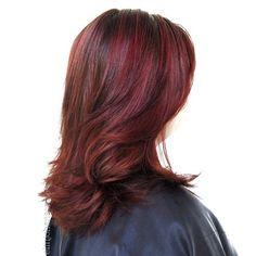 Medium-Length Haircut With Long Layers