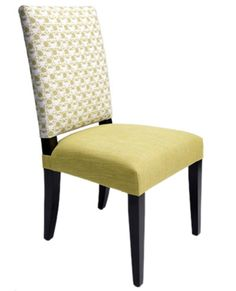 Jack Dining Chair - Christopher Kennedy.  Love the shape of these but want brown leather upholstery.