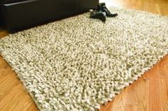 $5 Off when you share! Classic Home Marshmallow Shaggy 300305 Latte Blend Rug   Contemporary Rugs #RugsUSA