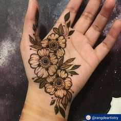 Women Beauty: 35 Latest Arabic Mehndi Designs for hands Henna Tattoo Hand, Henna Tattoo Designs, Henna Tattoos, Henna Tattoo Muster, Simple Henna Tattoo, Finger Henna Designs, Mehndi Designs For Fingers, Henna Designs Easy, Beautiful Henna Designs