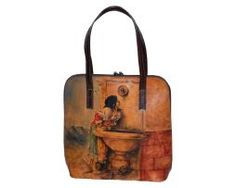 Handmade, rucna malba, hand painted, leathergoods, www.luxusne-doplnky.eu, masterpiece, hand painted leather, gustav klimt, rucne malovana, rucne malovany, malba na kozu Painting Leather, Gustav Klimt, Leather Backpack, Hand Painted, Handmade, Bags, Self, Hand Made, Purses